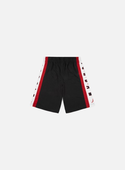 pantaloni jordan rise 3 short black gym red