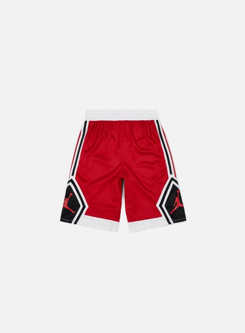 pantaloni jordan rise diamond short gym red gym red