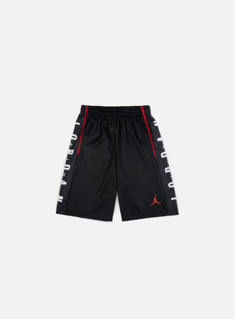 pantaloni jordan rise graphic short black gym red