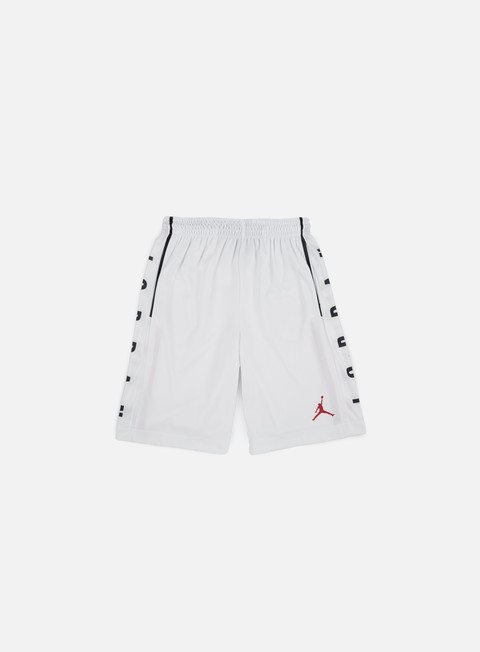 pantaloni jordan rise graphic short white gym red