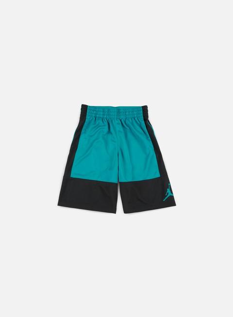 pantaloni jordan rise solid short black bustery