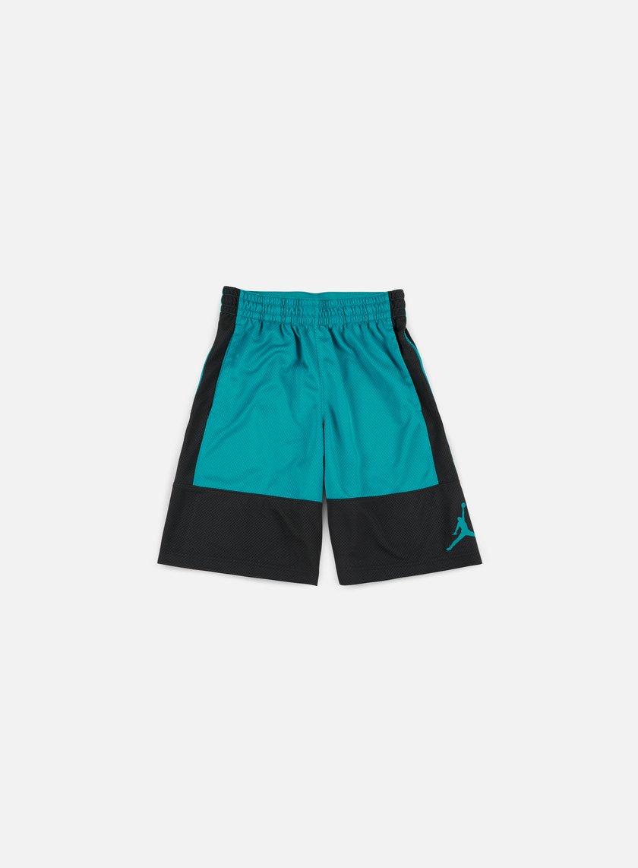 Jordan - Rise Solid Short, Black/Bustery