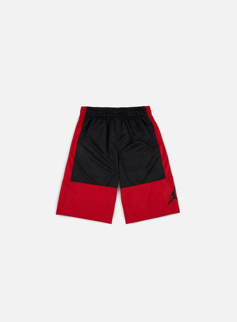 pantaloni jordan rise solid short gym red black