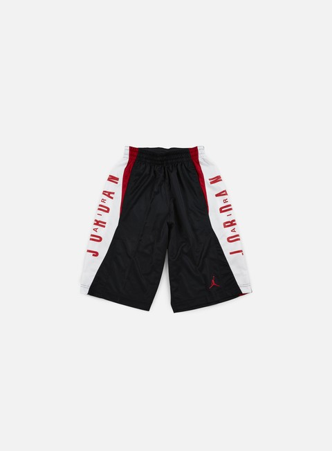 pantaloni jordan takeover short black gym red