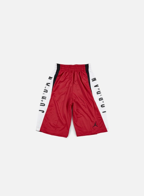 pantaloni jordan takeover short gym red black