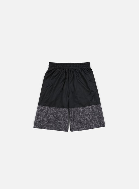 pantaloni jordan wings blackout short black black