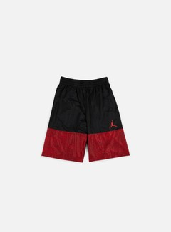 Jordan - Wings Blackout Short, Black/Gym Red