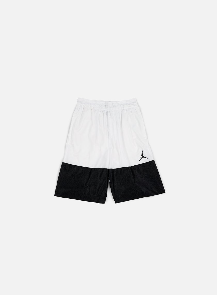 Jordan - Wings Blackout Short, White/Black