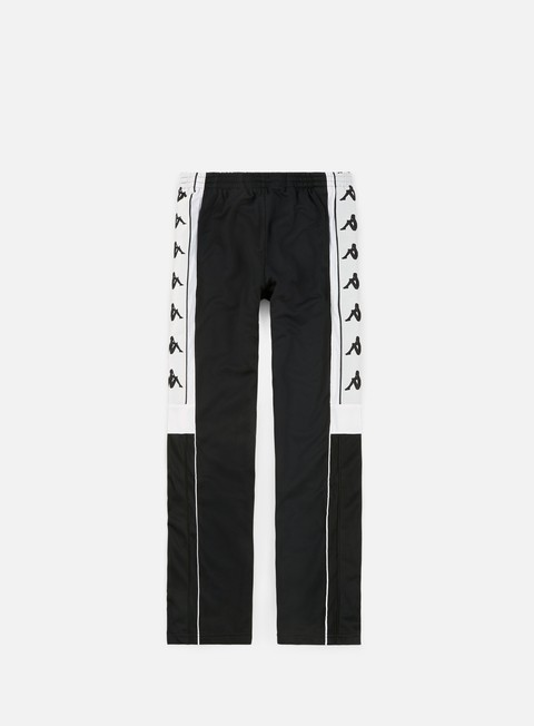 pantaloni kappa 222 banda 10 arpan pant black white