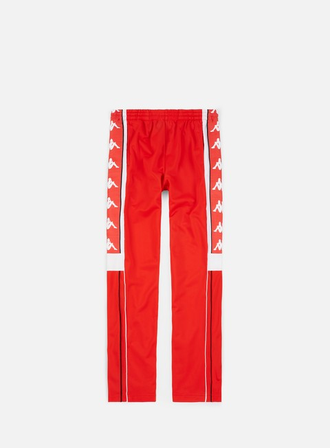 pantaloni kappa 222 banda 10 arpan pant flame white