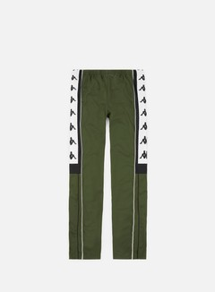 Kappa - 222 Banda 10 Arpan Pant, Green/Black/White