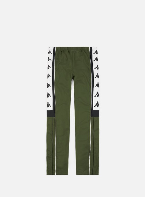 pantaloni kappa 222 banda 10 arpan pant green black white