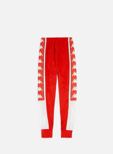 pantaloni kappa 222 banda alen sport pants red flame white