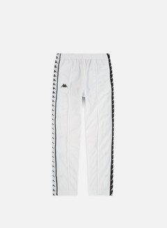 Kappa - 222 Banda Astoria Snap Slim Pant, White/Black