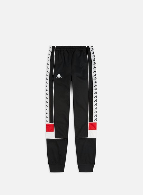 Ecologia cricket bella vista  Kappa 222 Banda Mems Slim Pant Men, Black Red White | Graffitishop
