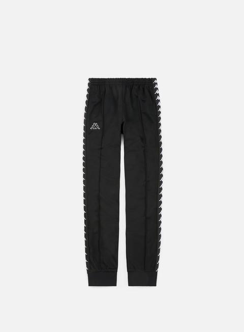 pantaloni kappa 222 banda rastoria slim pant black black