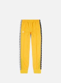 Kappa - 222 Banda Rastoria Slim Pant, Yellow/Black/White