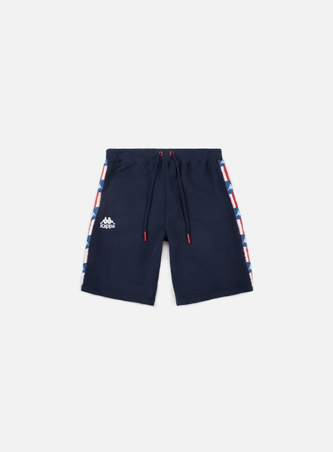 pantaloni kappa authentic la 84 zutles shorts blue marine