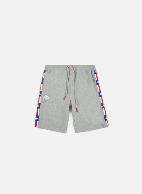 pantaloni kappa authentic la 84 zutles shorts grey mid melange