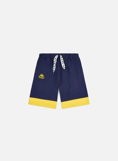 Kappa - Authentic Sand Collide Shorts, Blue Md/Yellow