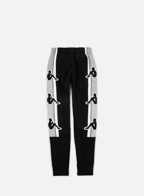 Kappa - Kontroll Big Omni Pant, Black/Grey Silver