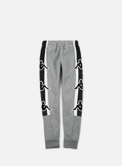 Kappa - Kontroll Big Omni Pant, Medium Grey Melange/Black 1