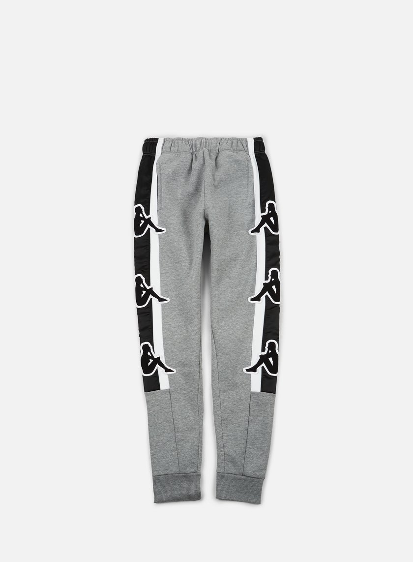 Kappa - Kontroll Big Omni Pant, Medium Grey Melange/Black