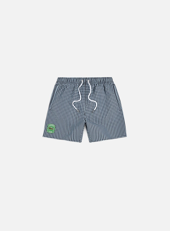 Lacoste Gingham Check Swim Shorts
