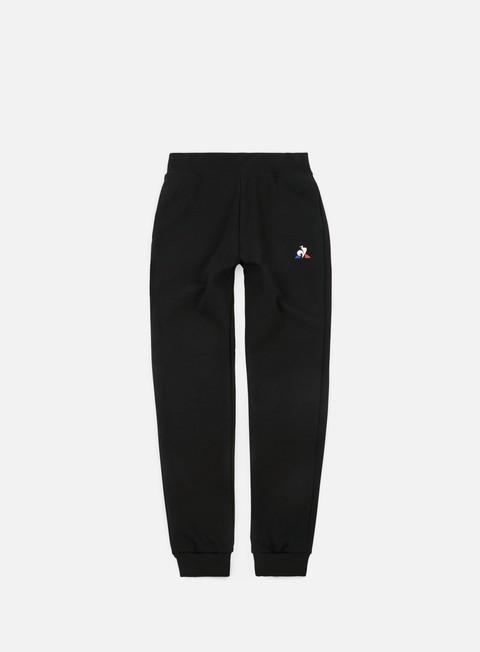pantaloni le coq sportif essential n1 tapered pant black