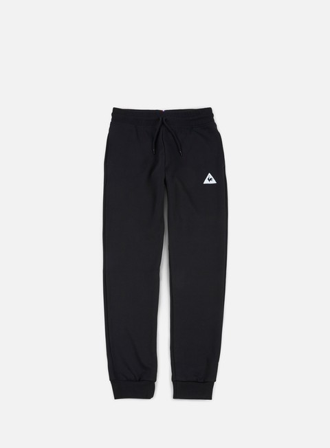 pantaloni le coq sportif essential tapered pant black
