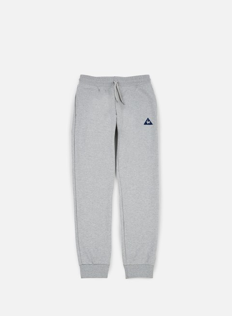 pantaloni le coq sportif essential tapered pant light heather grey