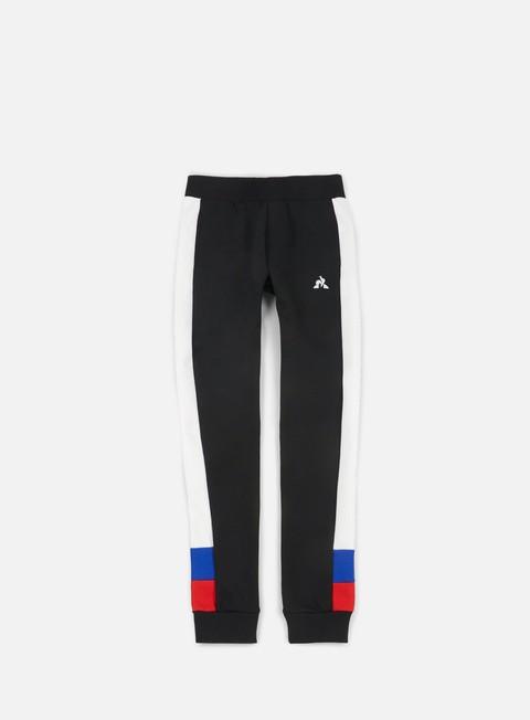 pantaloni le coq sportif inspi football n1 slim pant black