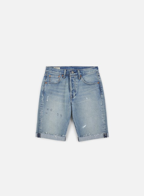 Outlet e Saldi Pantaloncini Corti Levi's 501 Original Cut Off Short