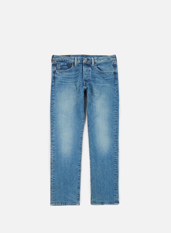 Levi's - 501 Original Fit Pant, The Ben/Dark Indigo