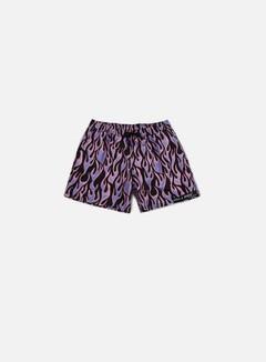 Life's a Beach - Blue Flame Swim Shorts, Blue 1