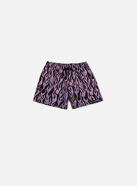 Swimsuits Life's a Beach Blue Flame Swim Shorts