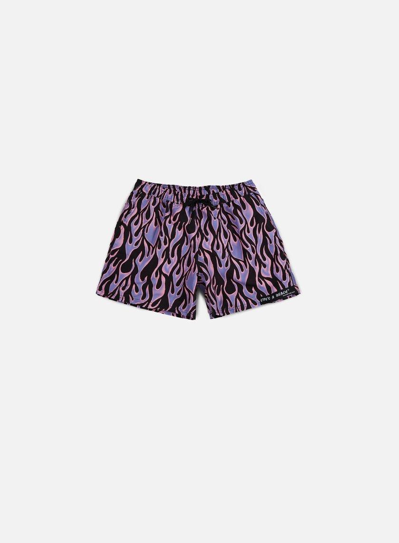 Life's a Beach - Blue Flame Swim Shorts, Blue