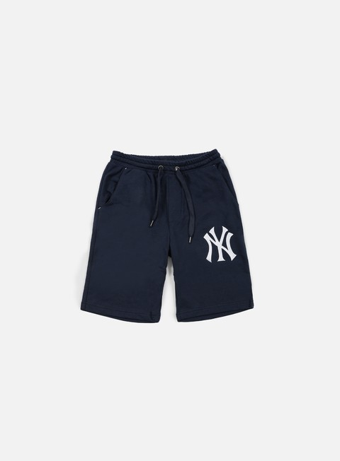 pantaloni majestic desta fleece short ny yankees navy