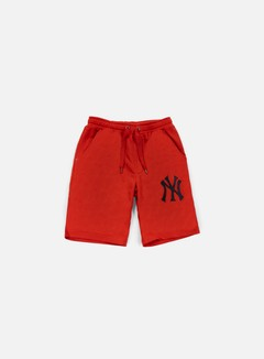 Majestic - Desta Fleece Short NY Yankees, Red 1