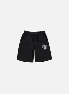 Majestic - Desta Fleece Short Oakland Raiders, Black 1