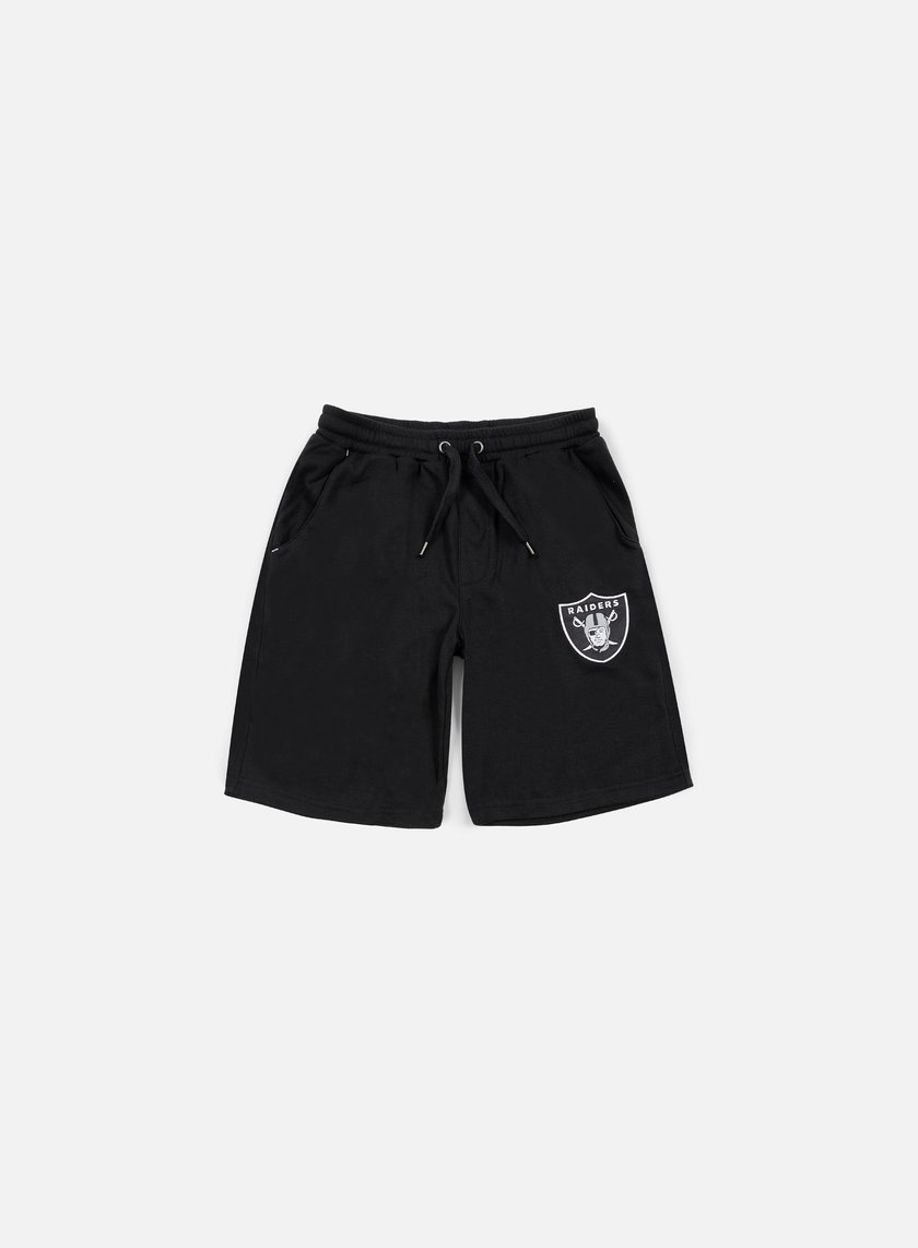 Majestic - Desta Fleece Short Oakland Raiders, Black