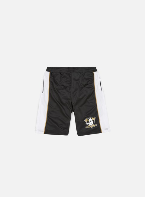pantaloni majestic fridar poly mesh short anhaeim ducks black