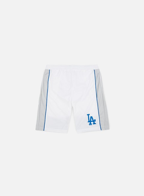 pantaloni majestic fridar poly mesh short la dodgers white