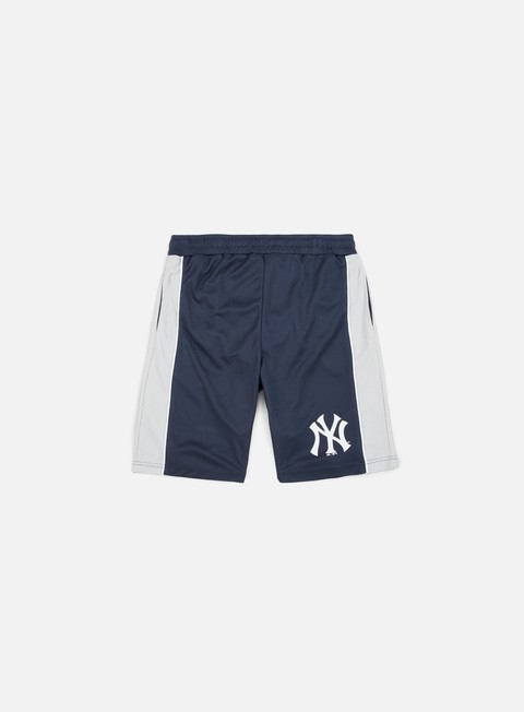 pantaloni majestic fridar poly mesh short ny yankees navy