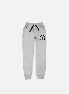 Majestic - Garten Cuffed Hem Jogger NY Yankees, Heather Grey