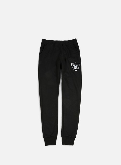 Sweatpants Majestic Platt Loopback Jogger Pant Oakland Raiders