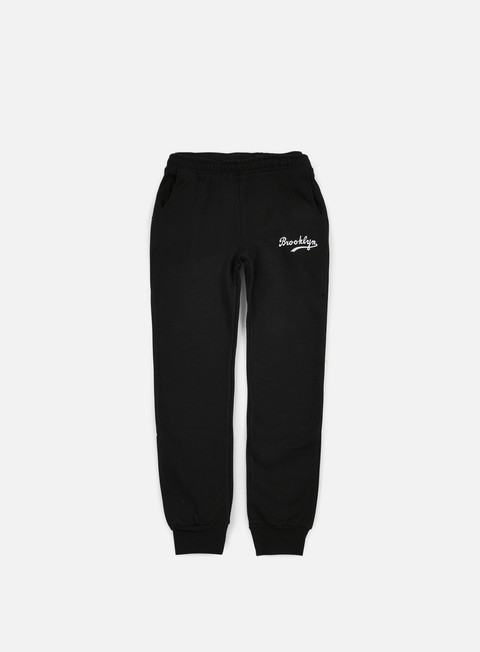 pantaloni majestic renod basic slim jogger brooklyn dodgers black