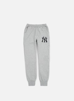 Majestic - Renod Basic Slim Jogger NY Yankees, Heather Grey 1