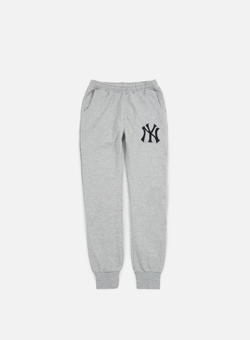 Majestic - Renod Basic Slim Jogger NY Yankees, Heather Grey