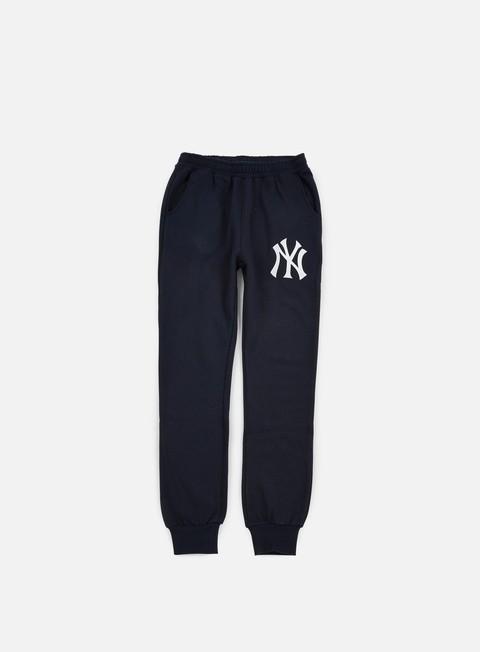 pantaloni majestic renod basic slim jogger ny yankees navy